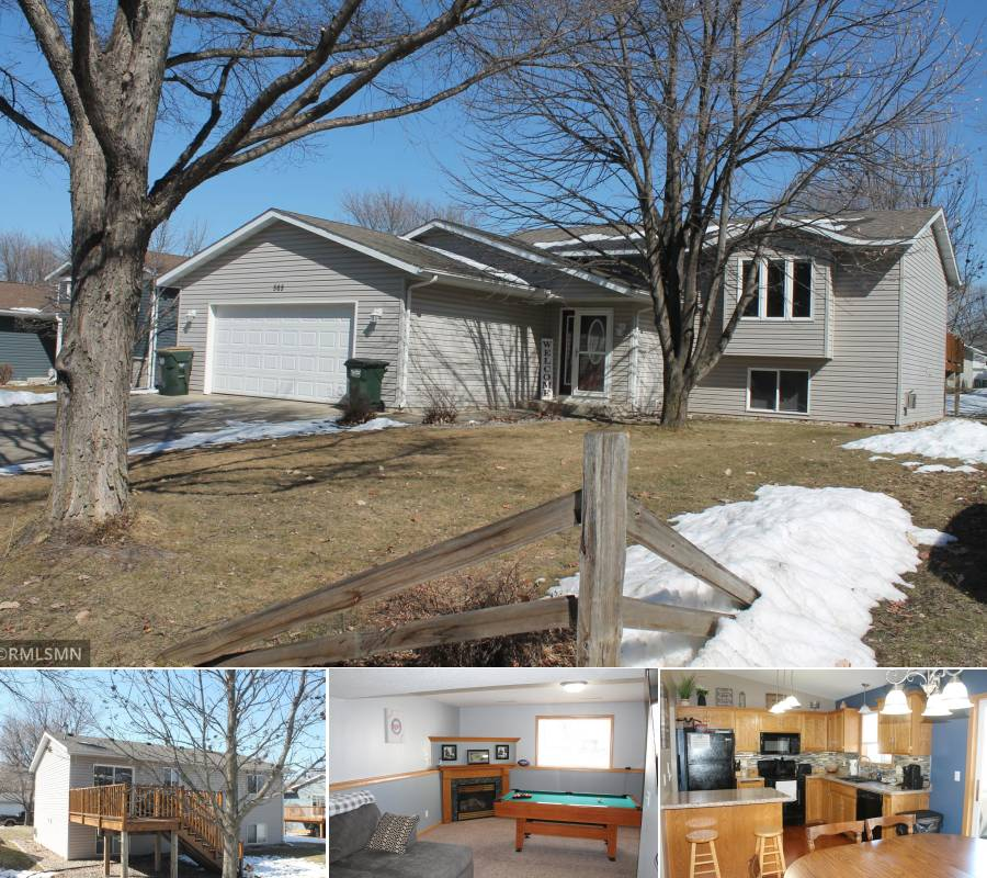 featured home, featured property, homes for sale, homes for sale in Hutchinson, hometown realty, hutchinson minnesota realtors, hutchinson mn real estate, Hutchinson MN realtors, hutchinson real estate, mcleod county real estate, houses for sale, agents, agency, split entry, barley street